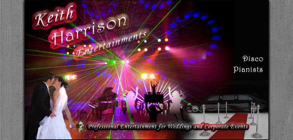 Keith Harrison Entertainments Banner